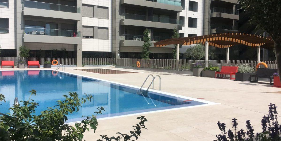 Zona común piscina